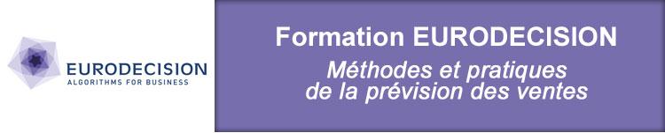 Formation EURODECISION Prevision des Ventes