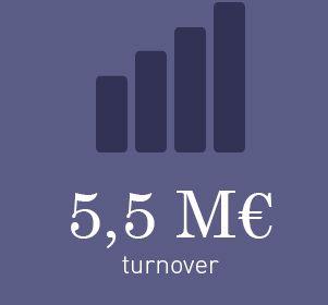 6M€ de chiffre d'affaires en 2013